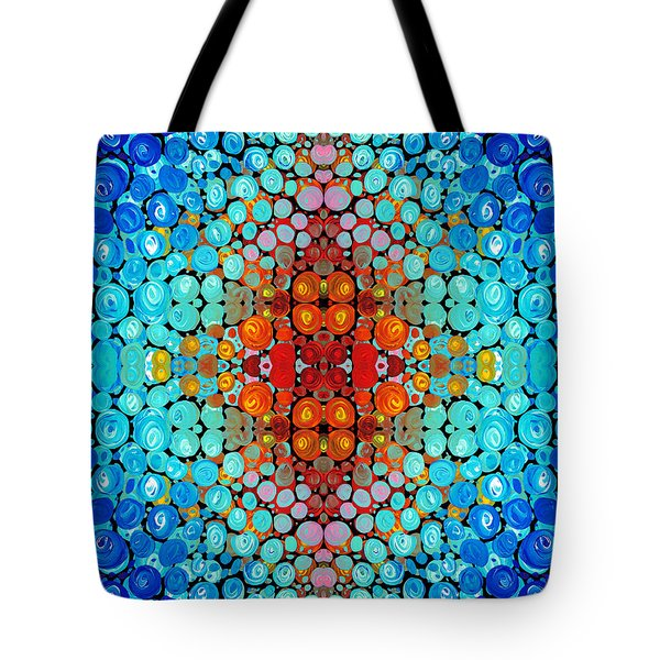 Inner Light - Abstract Art By Sharon Cummings Tote Bag