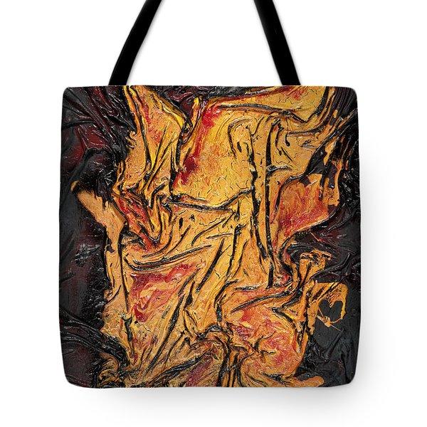 Internal Fire Tote Bag