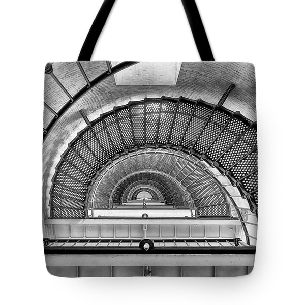 Tote Bag featuring the photograph Into The Light by Howard Salmon