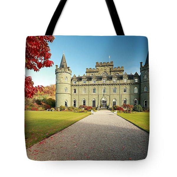 Inveraray Castle Tote Bag