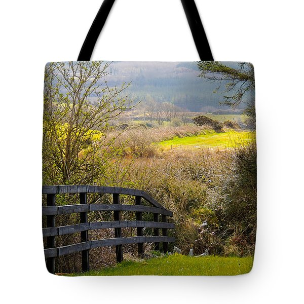 Irish Countryside In Spring Tote Bag