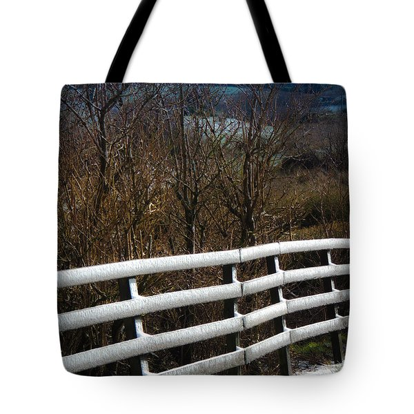Irish Winter Tote Bag