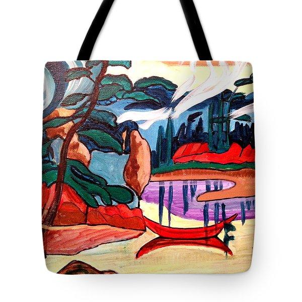 Island Fantasy Tote Bag