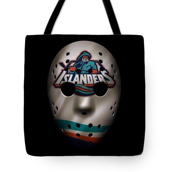 Islanders Jersey Mask Tote Bag