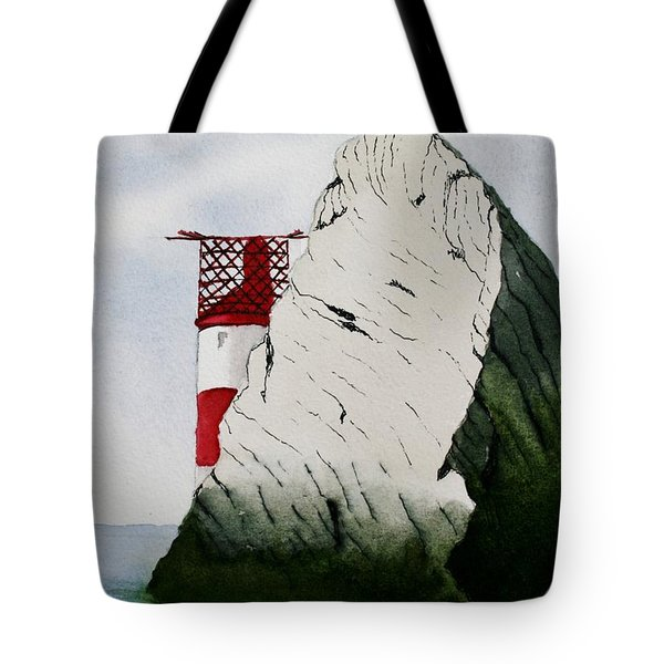 Isle Of Wight Lighthouse Tote Bag