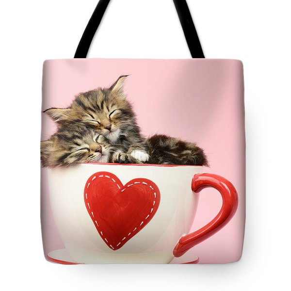 It Must Be Love Tote Bag by Greg Cuddiford