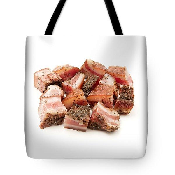 Italian Guanciale Tote Bag