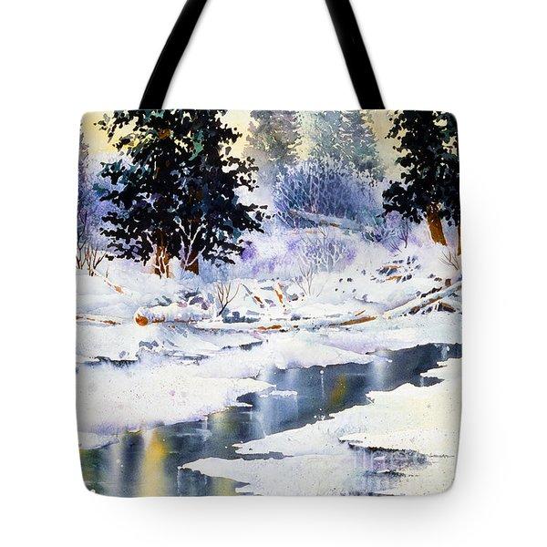 Jack Creek The Wrangells Tote Bag