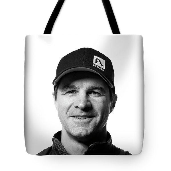 Jackson Hole Alpine Guide Portraits Tote Bag