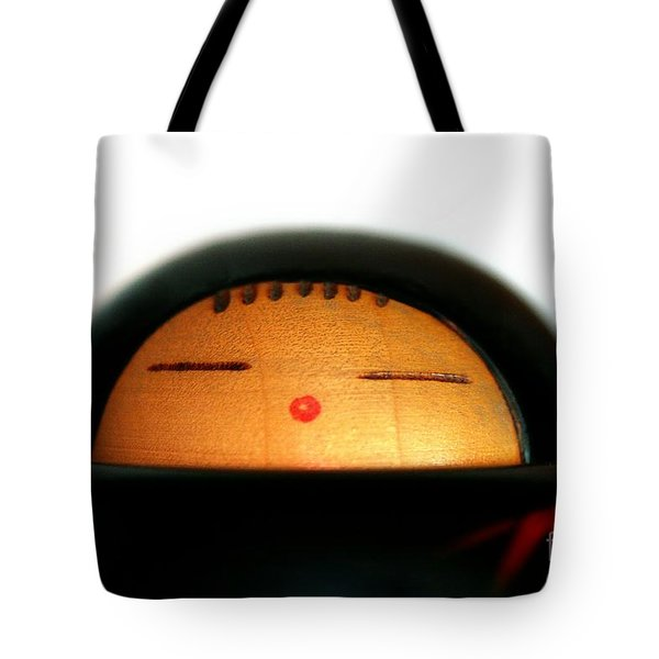 Tote Bag featuring the photograph Japanese Doll by Henrik Lehnerer