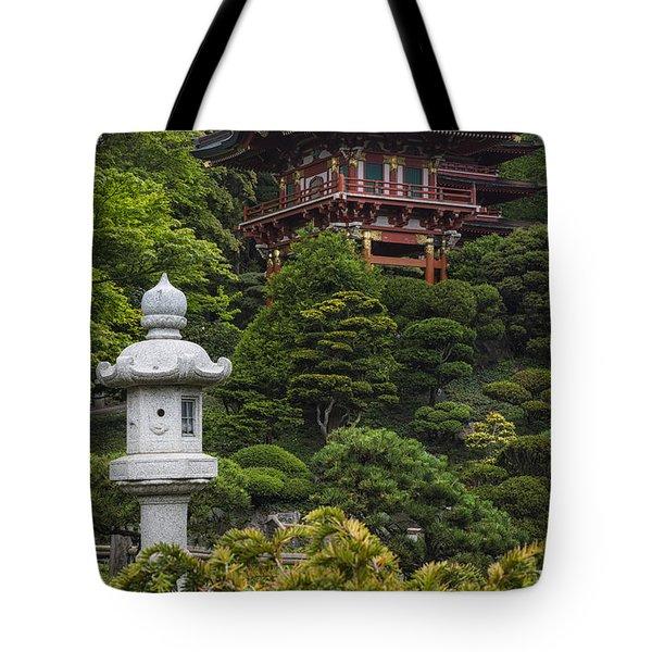 Japanese Tea Garden Golden Gate Park Tote Bag
