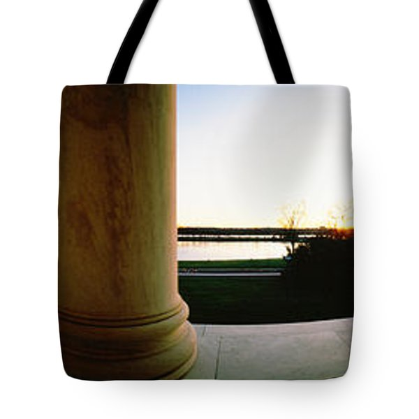 Jefferson Memorial Washington Dc Usa Tote Bag by Panoramic Images