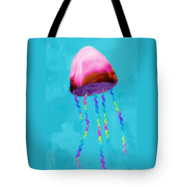 Jelly The Fish Tote Bag