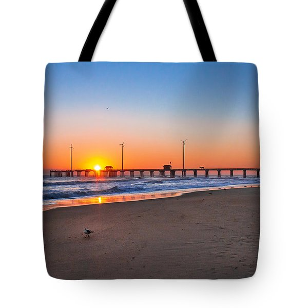 Jennettes Pier Tote Bag by Mary Almond