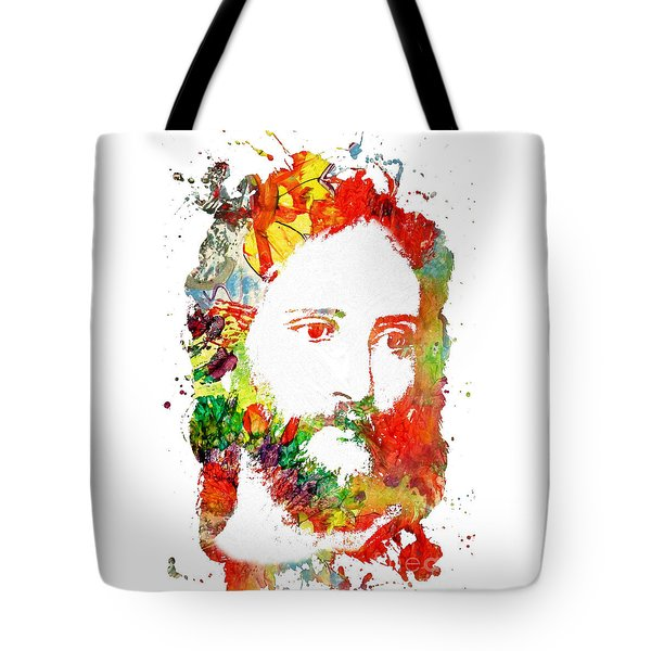 Jesus Christ - Watercolor Tote Bag
