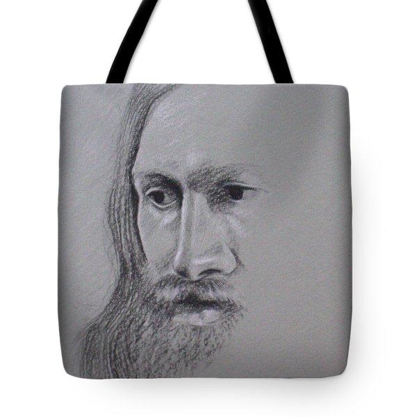 Jesus Tote Bag by Kathy Weidner