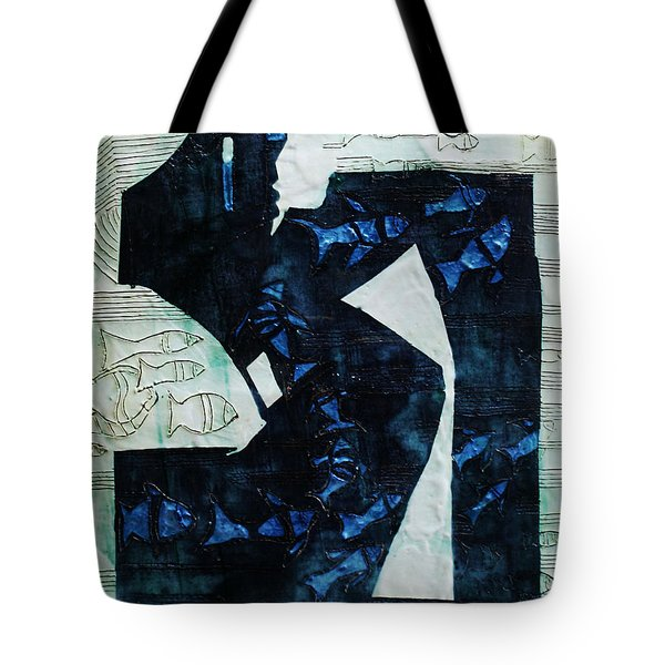 Jesus Reaps His Harvest Tote Bag by Gloria Ssali