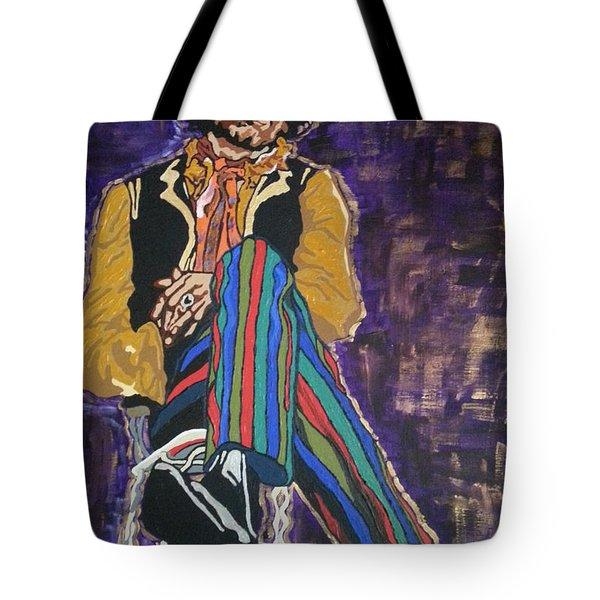 Jimi Hendrix Tote Bag