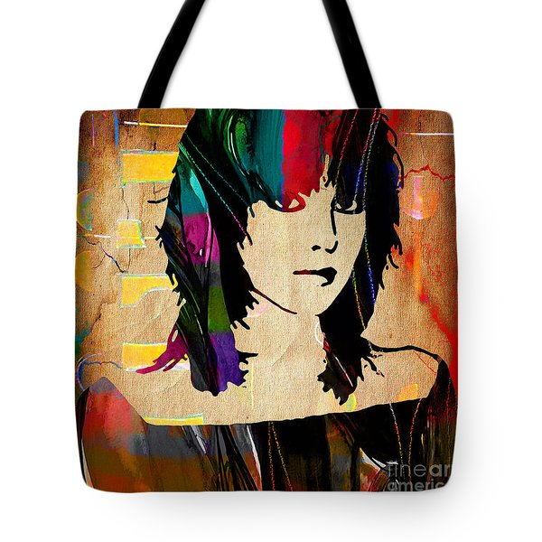 Joan Jett Collection Tote Bag