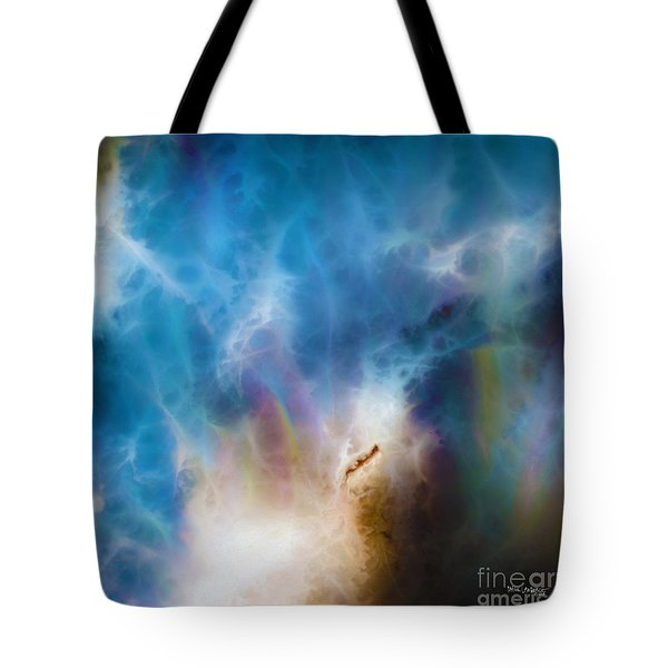 1 John 3 2. Gracious Uncertainty Tote Bag by Mark Lawrence