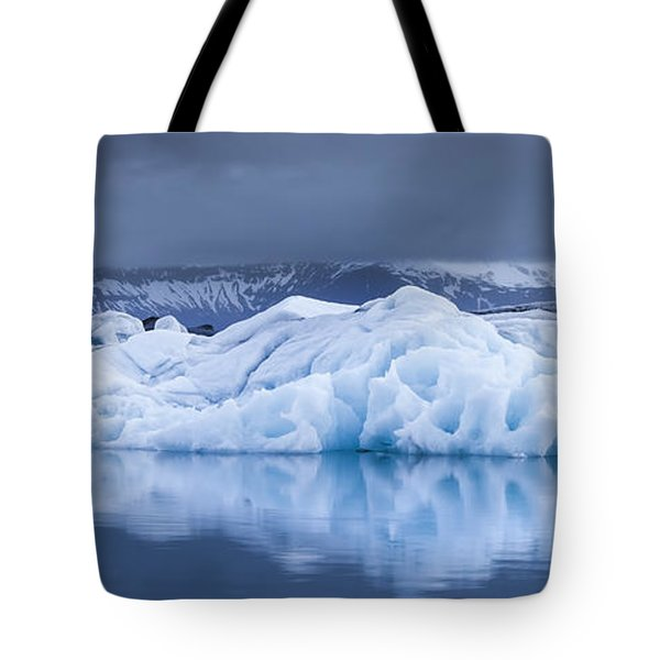 Jokulsarlon Tote Bag by Gunnar Orn Arnason
