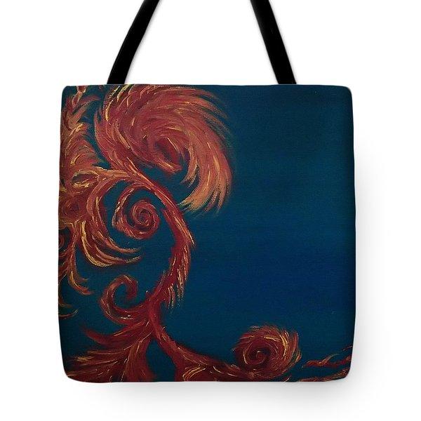 Tote Bag featuring the painting Jumbie Under De' Ocean by Robert Nickologianis