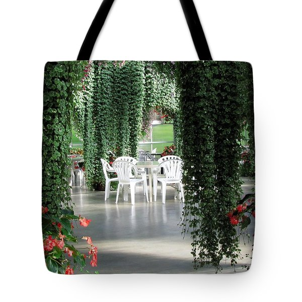 Tote Bag featuring the photograph Juneau Glacier Gardens by Jennifer Wheatley Wolf