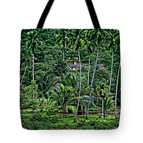 Jungle Life Tote Bag by Steve Harrington