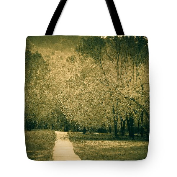 Just A Short Walk Tote Bag