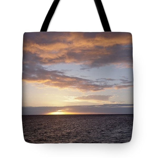 Kailua Sunset Tote Bag by Brandon Tabiolo