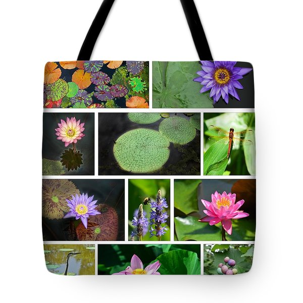Kenilworth Aquatic Gardens Tote Bag