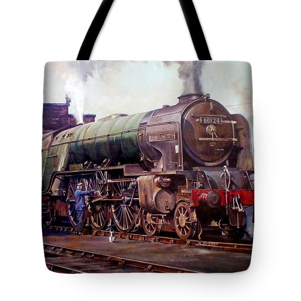 Kenilworth On Shed. Tote Bag by Mike  Jeffries