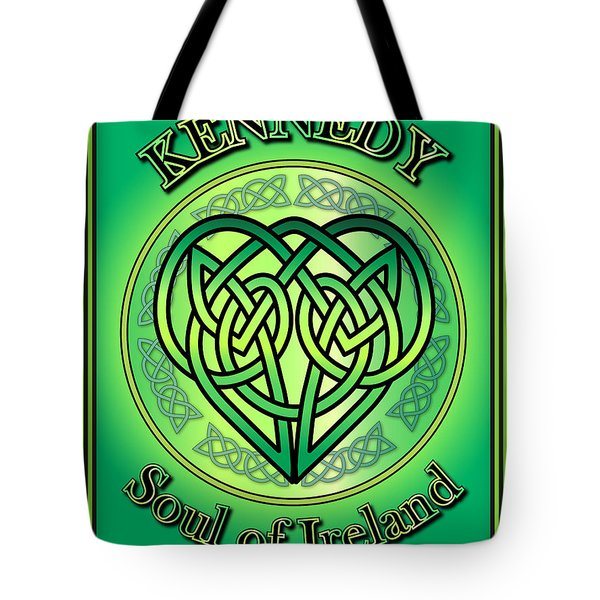 Kennedy Soul Of Ireland Tote Bag