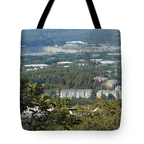 Kennesaw Battlefield Mountain Tote Bag