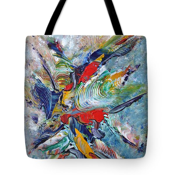 Kiss Me Tote Bag by Thierry Vobmann