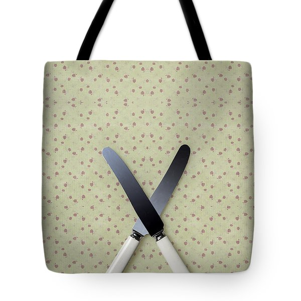 Knives Tote Bag by Joana Kruse