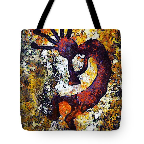 Kokopelli The Flute Player Tote Bag