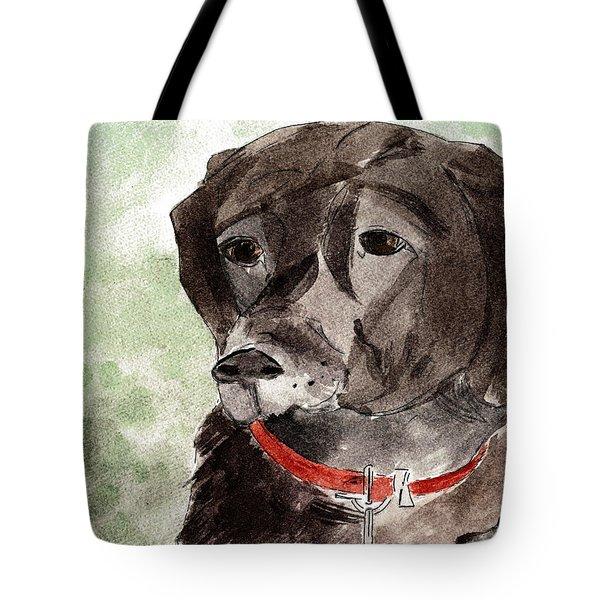 Labrador Retriever Tote Bag by Elizabeth Briggs