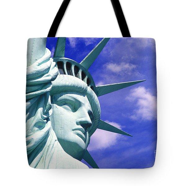 Lady Liberty Tote Bag by Jon Neidert