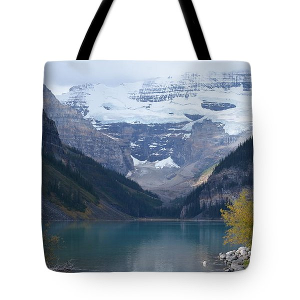 Lake Louise In Fall Tote Bag