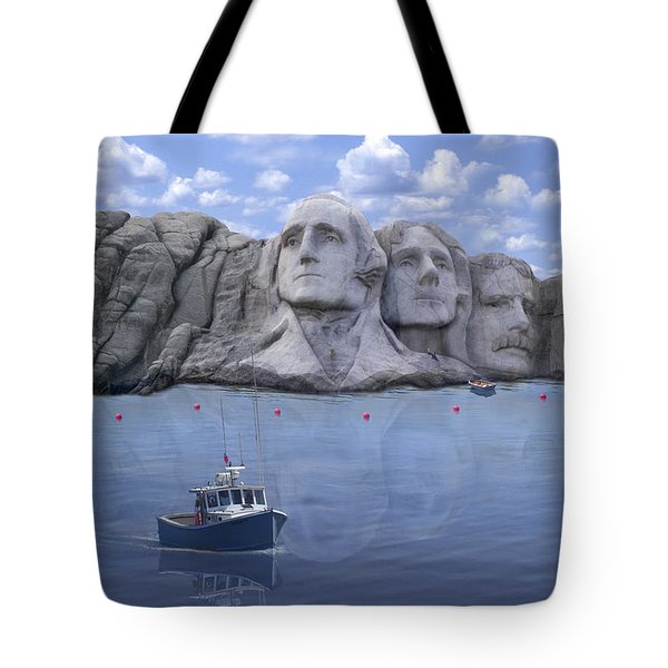 Lake Rushmore - Special Tote Bag by Mike McGlothlen