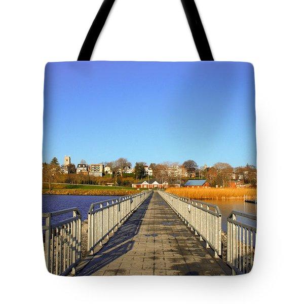 Lake Seneca Tote Bag
