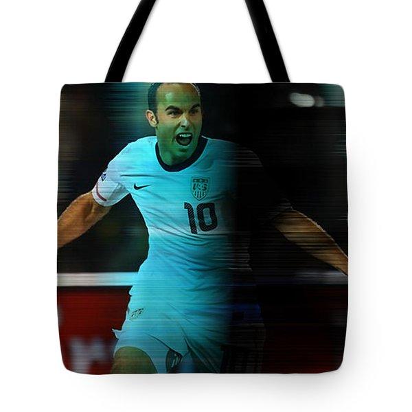 Landon Donovan Tote Bag