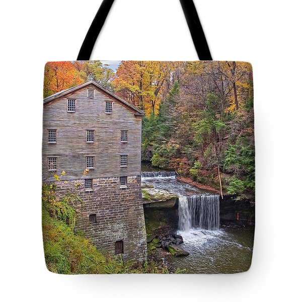 Lantermans Mill Tote Bag by Marcia Colelli