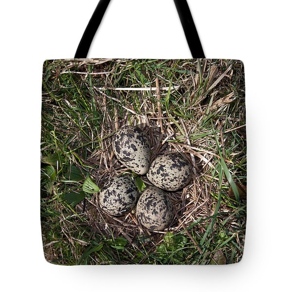Lapwing Nest Tote Bag