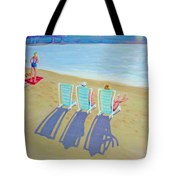 Sunset On Beach - Last Rays Tote Bag