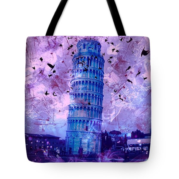 Leaning Tower Of Pisa 2 Tote Bag