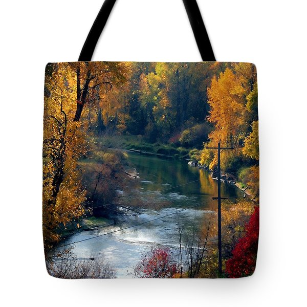 Leavenworth Fall Tote Bag