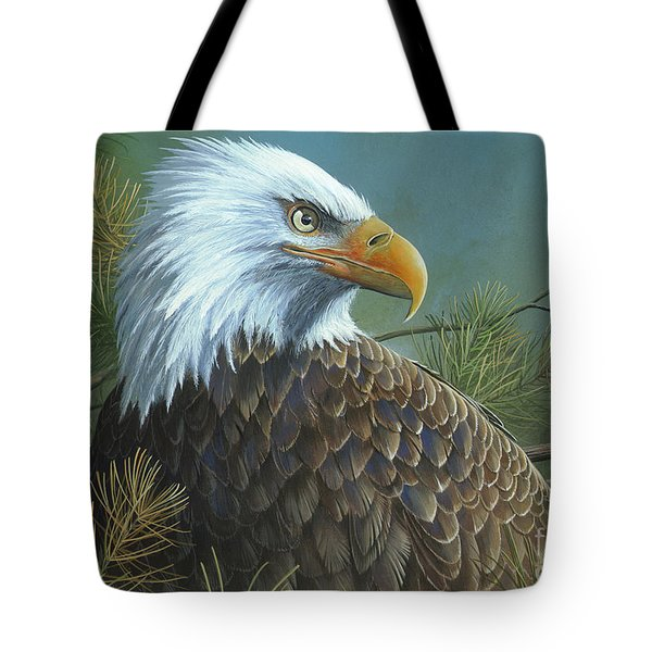 Tote Bag featuring the painting Legacy by Mike Brown