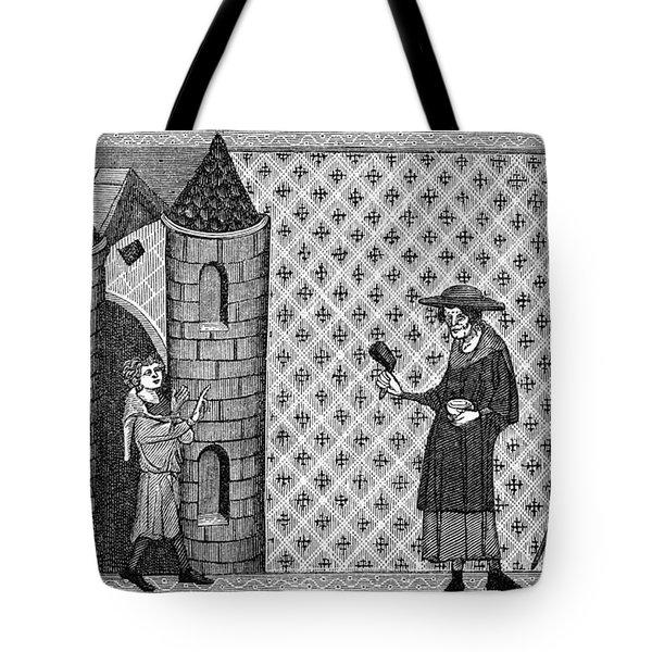 Leper House, C1220-1244 Tote Bag by Granger